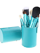 12 Makeup Brushes Set Goat Hair Portable Wood Face ShangYang(Brush Package)