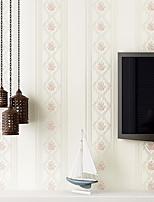 Fleur / Géométrique Fond d'écran pour la maison Contemporain Revêtement , Intissé Matériel adhésif requis fond d'écran , Chambre