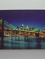 LED Canvas Print,NYNY