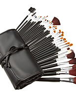 34Pcs Makeup Brush Animal Hair Studio Makeup Brush Sets
