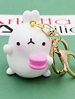Cartoon Rabbit Random Key Ring