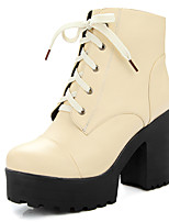 Women's Shoes Fall / Winter Fashion Boots / Combat Boots / Round Toe Boots Office & Career / Dress / Casual Chunky Heel