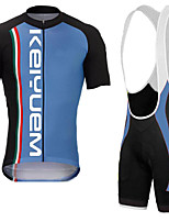 KEIYUEM®Summer Cycling Jersey Short Sleeves + BIB Shorts Ropa Ciclismo Cycling Clothing Suits #K135