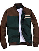 New men's spring and autumn jacket thin s casual men fall thin coat collar male youth fashion coat