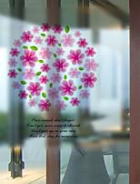 Window Film Window Decals Style Pandora Flowers Matte PVC Window Film - (60 x 58)cm