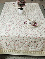 Mélange Lin/Coton Carré Nappes de table