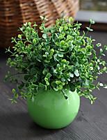 Simulation Plant + Sphere Vase Combination Bonsai