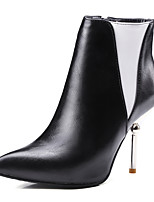 Mujer-Tacón Stiletto-Tacones / Botines / Puntiagudos / Botas a la Moda-Botas-Oficina y Trabajo / Vestido / Casual / Fiesta y Noche-