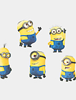 5 Minions Despicable Me Wall Stickers DIY Cartoon Fashion Children's Bedroom Wall Decals