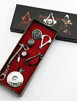 Assassin's Creed Conner Plata Aleación Reloj