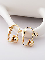 Earring Circle Jewelry Women Fashion Daily / Casual Alloy 1 pair Gold / Gold-Blue / Silver
