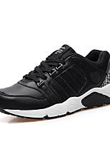 Men's Shoes Tulle Casual Sneakers Casual Walking Flat Heel Others  Black