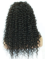 EVAWIGS 10A Glueless Lace Front Remy Human Hair Wigs Brazilian Virgin Hair Loose Curly Wave Human Hair Wigs