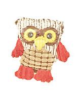 Cat / Dog Toy Pet Toys Chew Toy / Plush Toy / Squeaking Toy Squeak / Squeaking Plush Khaki