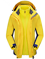 Outdoor Women's Softshell Jacket / Fleece Jackets Camping & Hiking / Climbing / FitnessWaterproof / Breathable