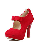Women's Heels Spring / Summer / Fall / Winter Heels Microfibre / Synthetic