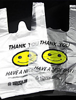 Smile Vest Vest Bags Plastic Bags Shopping Bags Bag Packing 50
