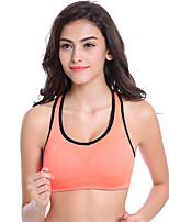 Full Coverage Seamless Sports Bra Yoga Run Shockproof Underwear Nursing  Push-up Wireless Racerback  Bras