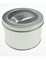 Silver Color Metal Material Packaging & Shipping Watch Packing Box A Pack of Three