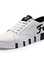 Men's Flats Spring / Fall Flats PU Casual Flat Heel Others Black / Blue / White Others