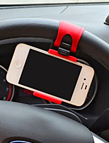 Vehicle mounted mobile phone support vehicle steering wheel mobile phone holder