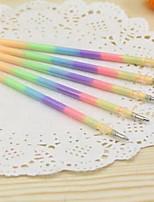 Bolígrafo Recargas,Plástico Rojo / Amarillo / Morado / Naranja / Verde