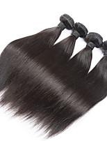 4 Stück Gerade Menschliches Haar Webarten Eurasisches Haar Menschliches Haar Webarten Gerade