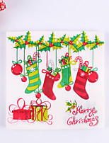 100% virgin pulp 20pcs Christmas Stocking Napkins