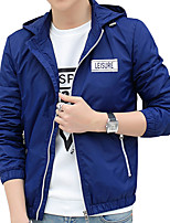 The 2016 men's jacket spring Jacket Mens Korean cultivating young students thin clothes on male tide