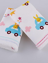 Small Car Child-towel Ultra Soft Water Washs A Face Cloth