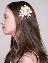 Damen Tüll Kopfschmuck-Freizeit Haarclip 2 Stück