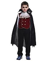 Disfraces de Cosplay / Baile de Máscaras / Ropa de Fiesta Fantasma / Zombi / Vampiros Festival/Celebración Traje de Halloween Rojo / Negro