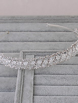 Women's Rhinestone Headpiece-Wedding / Office & Career / Outdoor Headbands 1 Piece