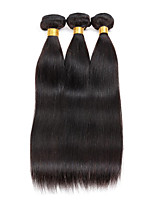 8-26inch Brazilian Virgin Remy Hair Silky Straight 3Pcs/Lot  Natural Color Unprocessed Human Hair Extensions(8
