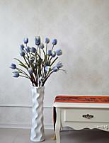 Hi-Q 1Pc Decorative Flower Tulips Flower Wedding Home Table Decoration Artificial Flowers