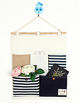 Five Pockets Behind The Door Navy Style Storage Bag