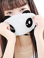 dormir o sono dos desenhos animados bonitos sombreamento gelo comprimir compressa quente portátil a máscara panda olho
