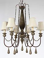 40W Lámparas Araña ,  Tradicional/Clásico / Cosecha / Retro / Campestre Pintura Característica for Mini Estilo MetalSala de estar /