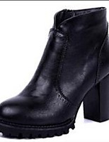 Women's Boots Fall / Winter Fashion Boots / Athletic / Casual Chunky Heel Others Black / Khaki Walking / Others