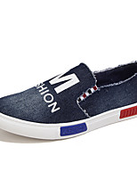 Summer Autumn Men's Casual Breatyhable Canvas Flat Shoes for Trip/Walkling for Students