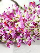 1 1 Филиал Полиэстер Орхидеи Букеты на стол Искусственные Цветы 107*15*15CM