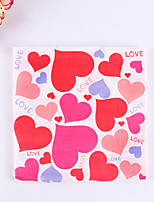 100% virgin pulp 20pcs Heart Wedding Napkins