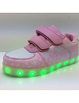 LED Light Up Shoes, Unisex Sneakers Spring / Fall / Winter Styles Synthetic Outdoor / Athletic / Casual Flat Heel Blue / Pink