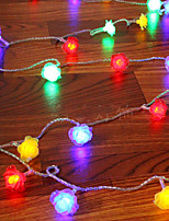 1PC LED Home Christmas Outdoors Decorate 9M 52 Dip Waterproof String Lights