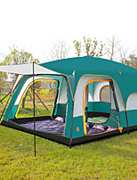 Luotuo  Ultraviolet Resistant / Anti-Insect / Well-ventilated / Oversized Polyester Two Rooms Tent Green