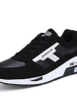Синий / Черный и красный / Черный и белый-Мужской-На каждый день-Тюль-На плоской подошве-Удобная обувь-Кеды