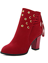Women's Shoes Snow Boots / Fashion Boots / Round Toe Boots Office & Career / Dress / Casual Low Heel Fur /