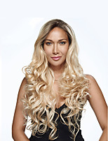 1B/Blonde Ombre Color Long Wave Women Wigs for Black Women Heat Resisting Wigs