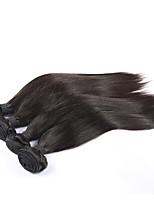 Brazilian Virgin Hair Grade 7A Straight Unprocessed Human Hair 4 Bundle Virgin Brazilian Straight Hair Extension Weave