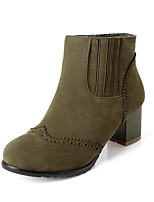 Women's Shoes    Heels / Fashion Boots Boots Outdoor / Office & Career / Casual Chunky Heel OthersBlack /
